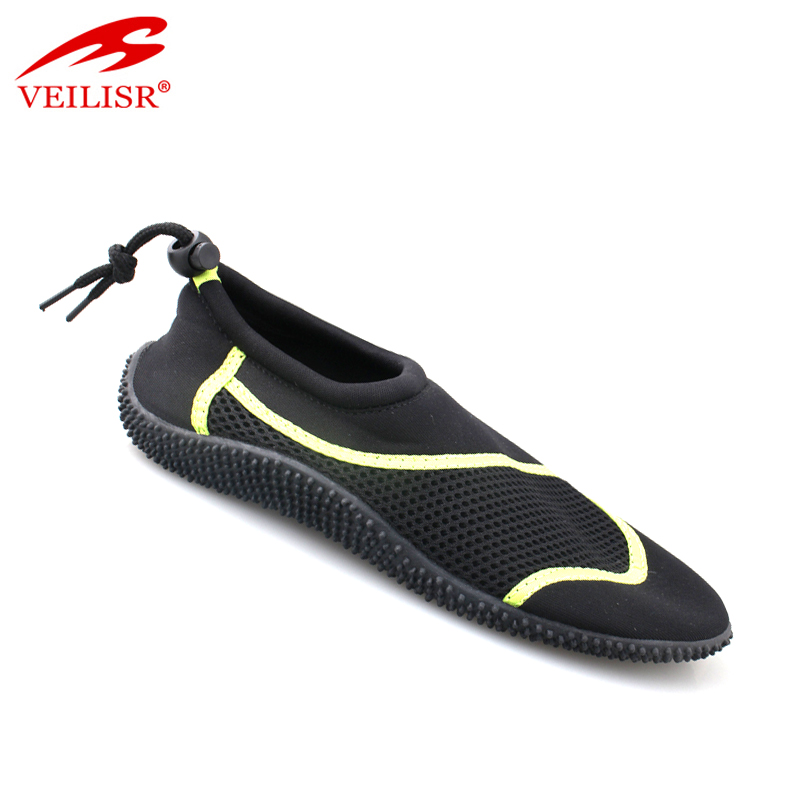 Zapatos lycra fabric swim footwear men beach aqua water shoes
