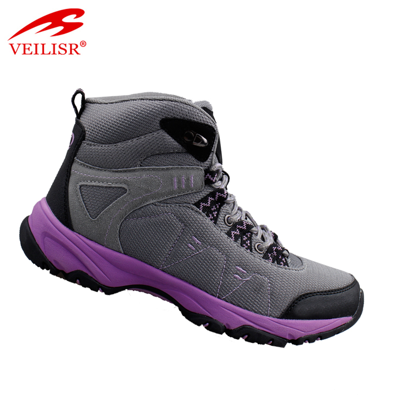 Outdoor fashion women sport boots trekking hiking shoes
