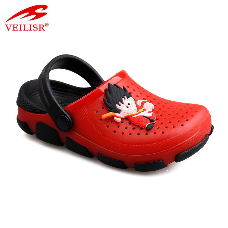 Outdoor summer beach cartoon children sandals garden kids clogs