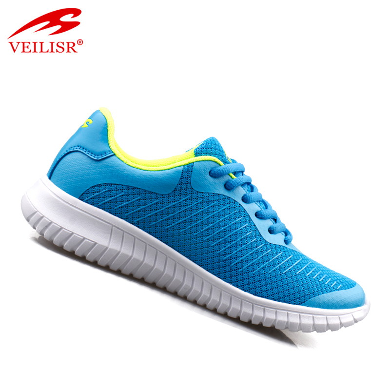 Zapatillas Factory Wholesale Directly China manufacturer High Quality PU mesh ladies casual sport shoes women fashion sneakers