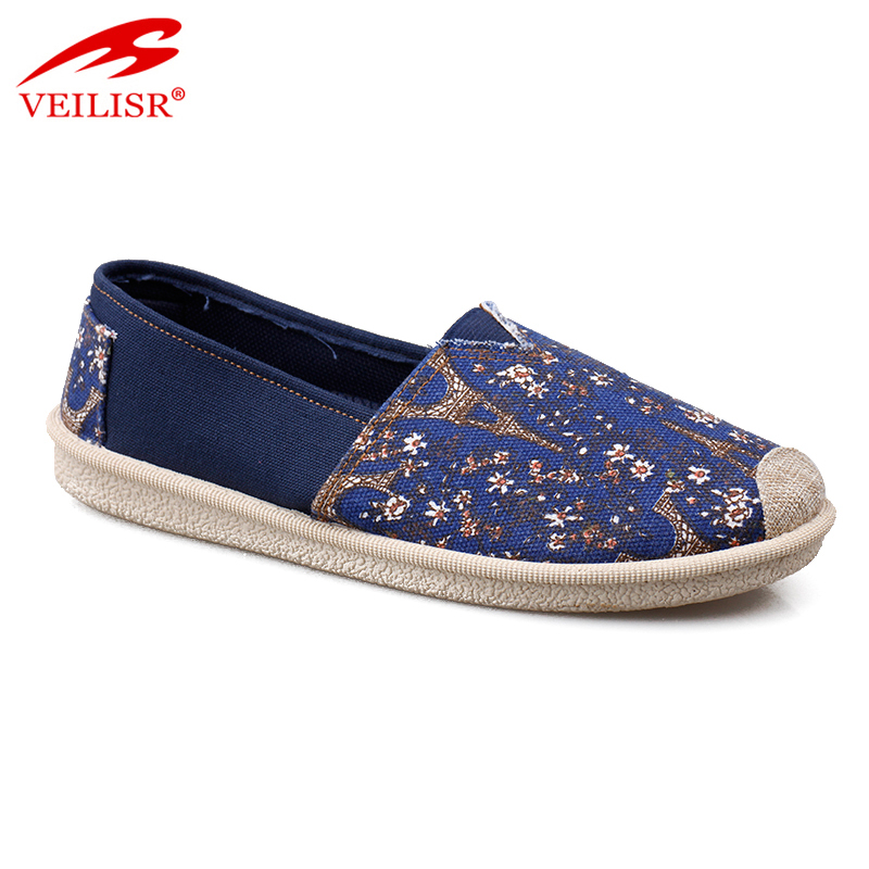 Zapatos ladies slip on flats casual women canvas shoes