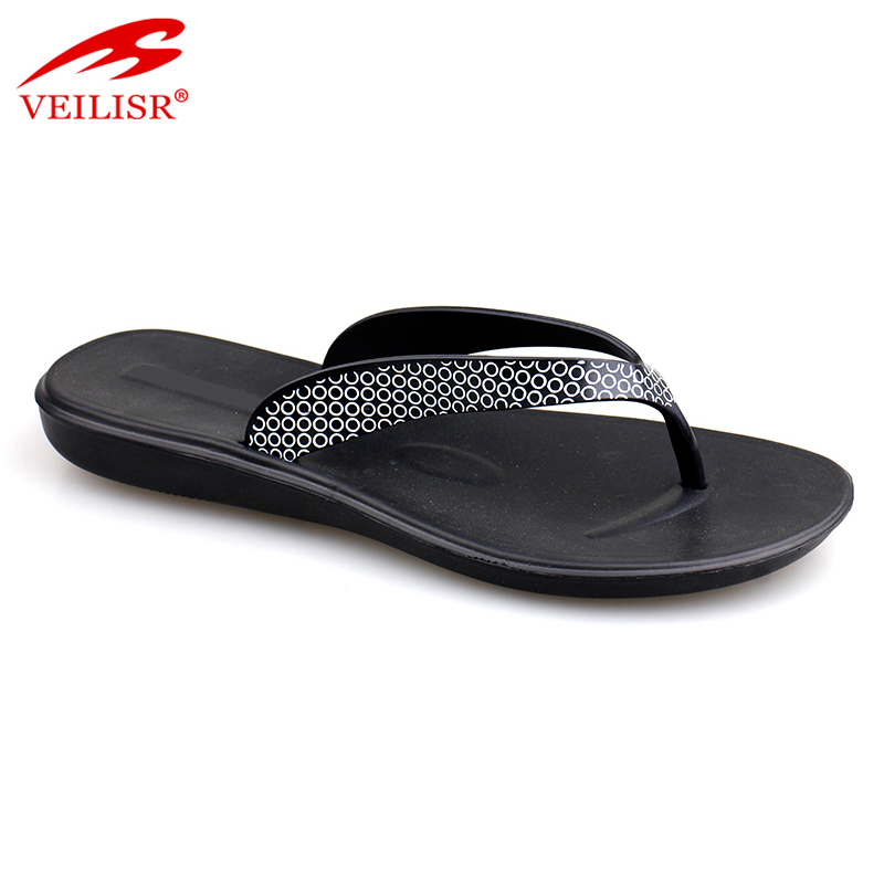 Chancletas summer beach ladies PVC slippers women flip flops
