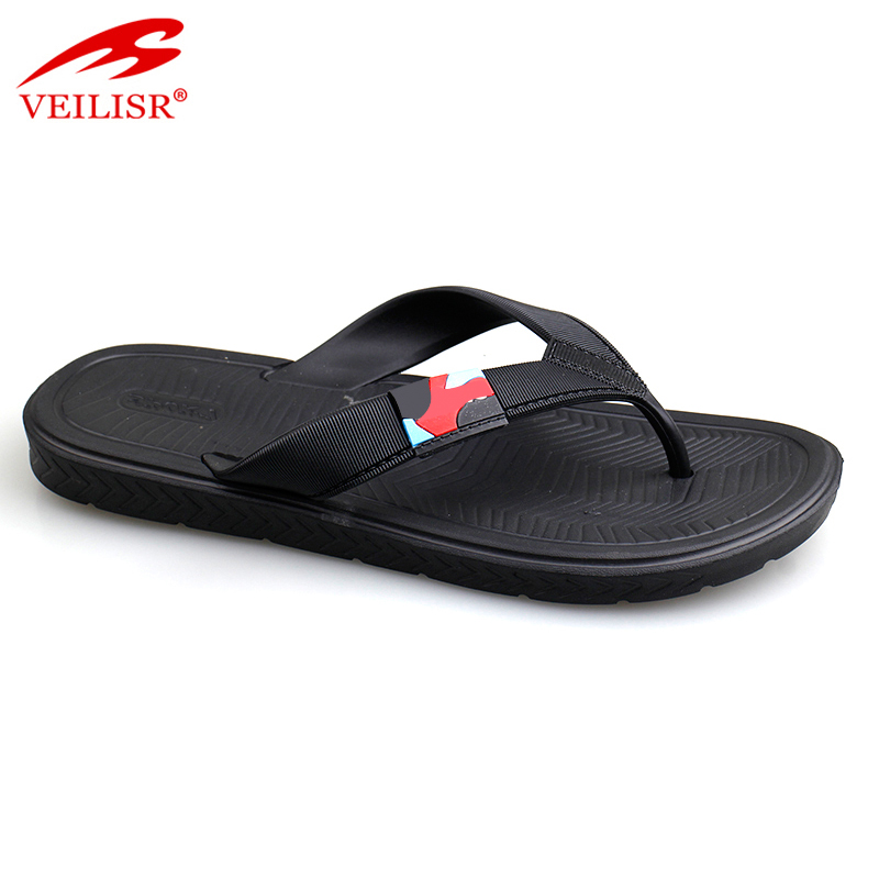 Chancletas summer beach PVC strap slippers men flip flops