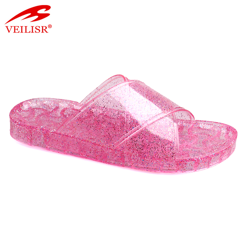Chancletas summer ladies PVC jelly slide sandals women slippers