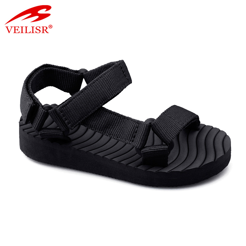 Sandalias summer ladies nylon strap wedge sandale women sandals