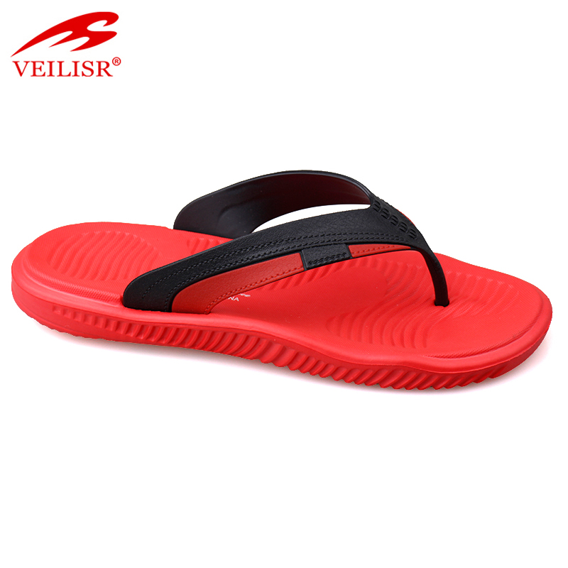 Chancletas hombre summer beach PVC strap slippers men flip flops