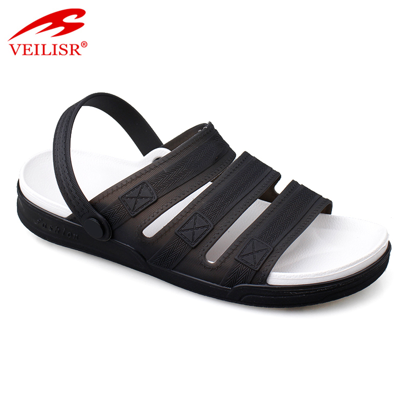 Sandale outdoor summer clear PVC Jelly Sandalias Men Sandals