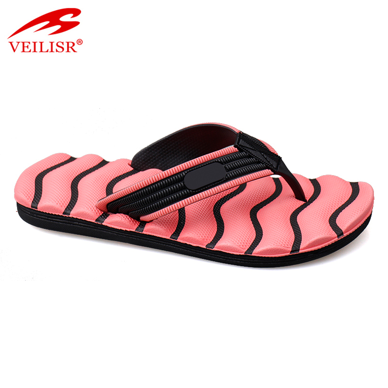 Outdoor fashion ladies massage slippers beach women flip flops