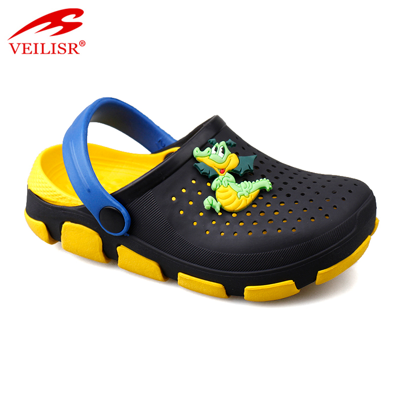 Outdoor summer beach cartoon children sandals garden kids clogs Featured Image