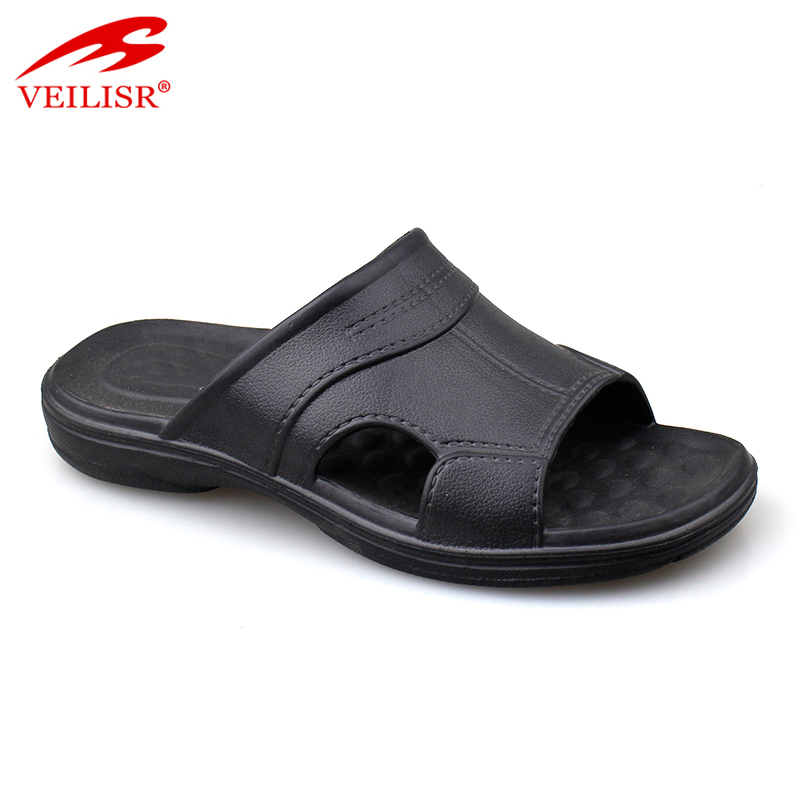 Wholesale outdoor summer beach EVA slippers men slide sandals
