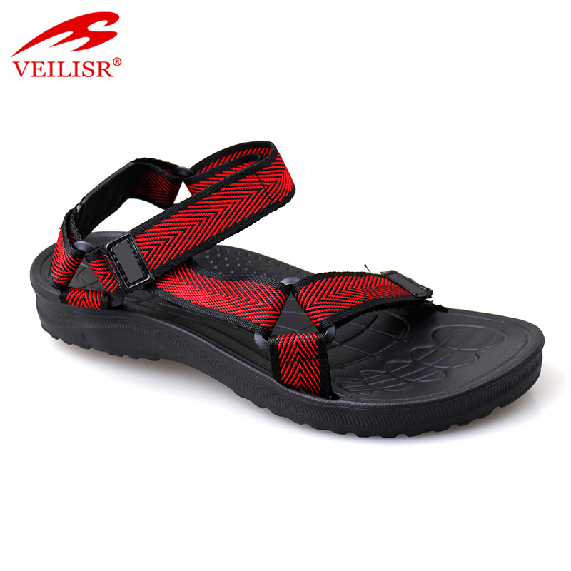 Outdoor summer new nylon tape hiking sandalias men sandals