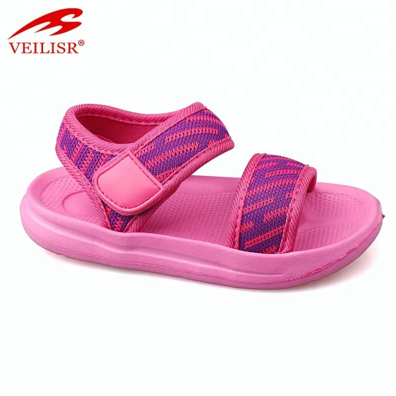 Hook loop design outdoor fabric tape kids footwear children sandals Featured Image