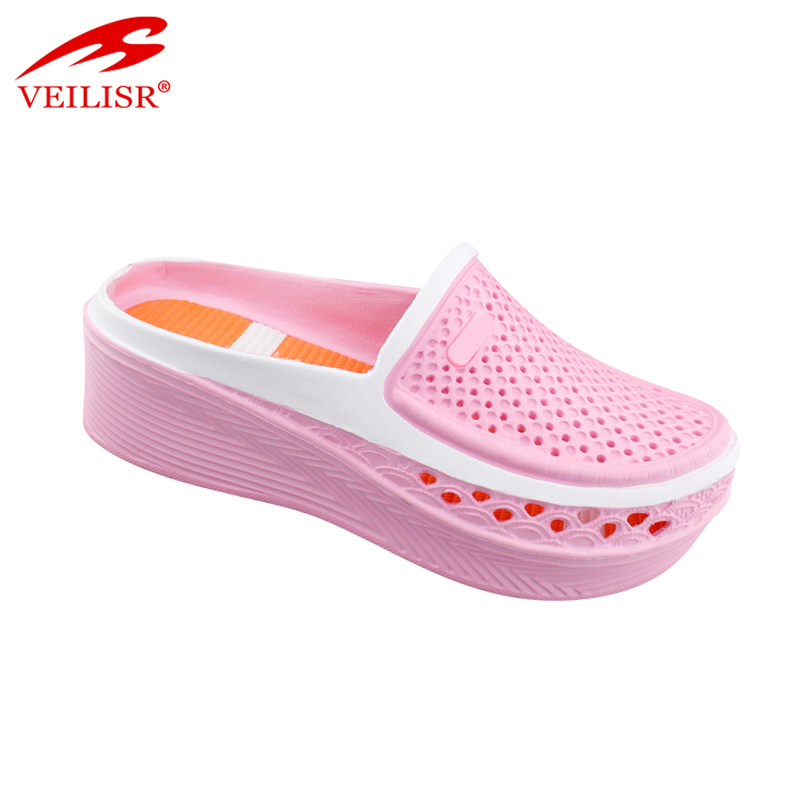 Outdoor summer wedge ladies EVA sabots garden women clogs