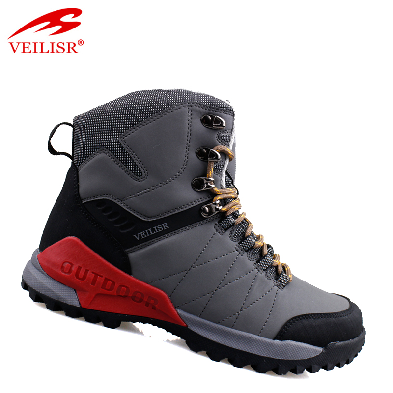 Zapatillas outdoor PU oxford upper waterproof men hiking boots