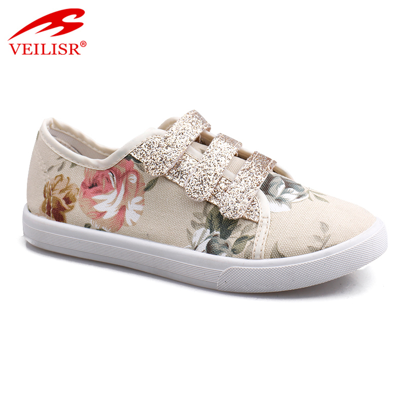 New design fashion buckle footwear injection women casual shoes