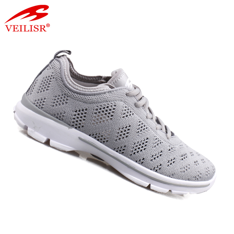 2020 New Style Low Price comfortable Outdoor knit fabric ladies light running sneakers women sport shoes