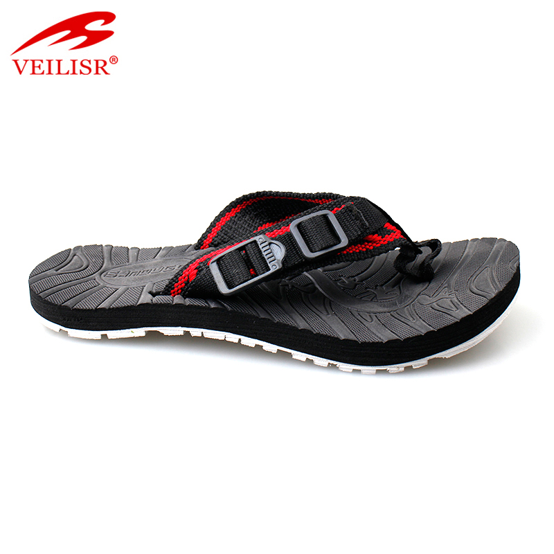 New models fabric tape footwear street fashion kids flip flops