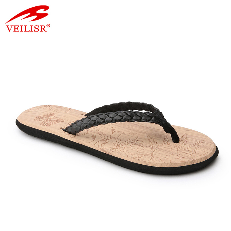 Chancletas summer ladies woven strap slippers women flip flops