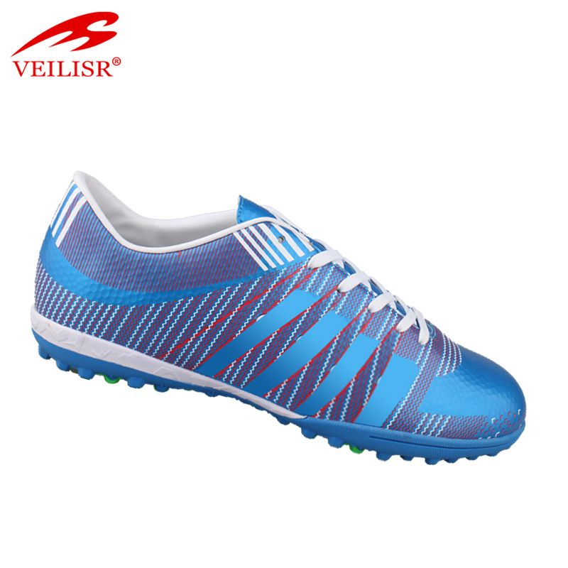 Zapatos de futbol outdoor blue brand men soccer boots football shoes
