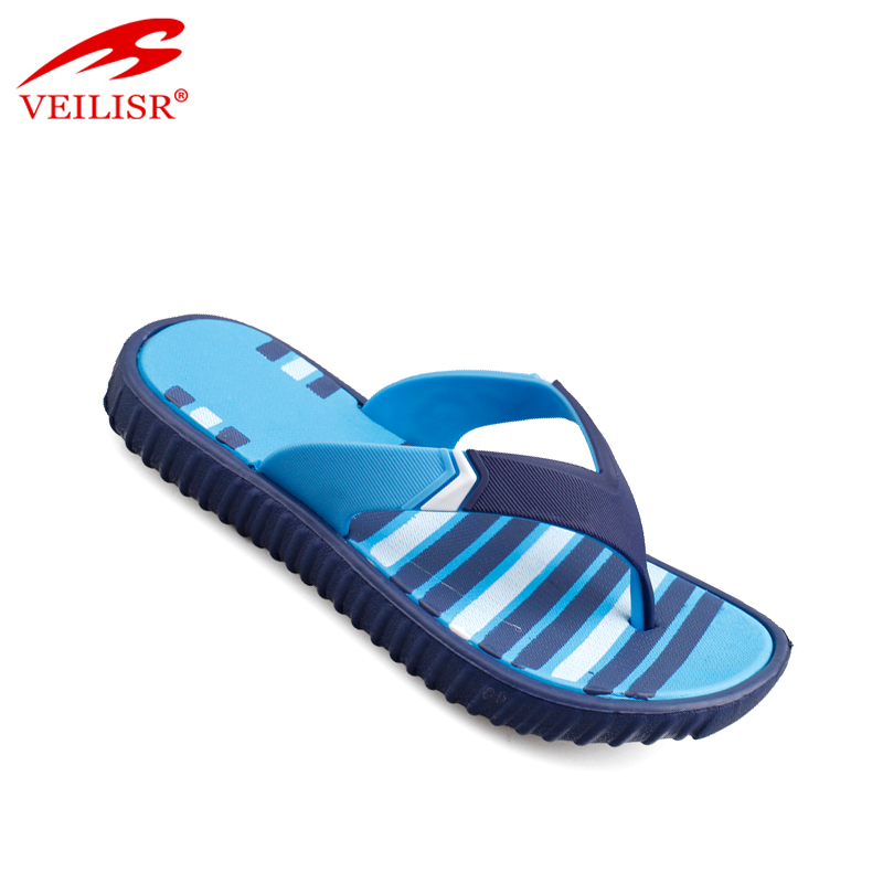 Cheap wholesale summer PVC strap eva footwear kids beach flip flops