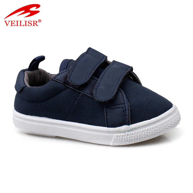 Outdoor children injection sneakers kids casual canvas shoes
