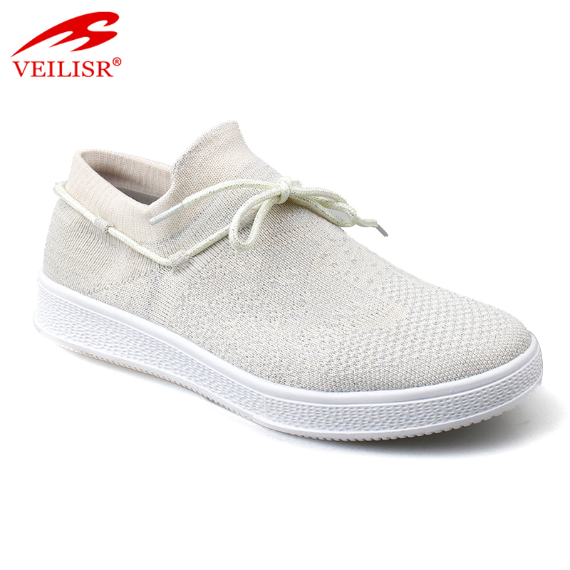 Most popular low price fly knit fabric upper women fashion running sneakers casual shoes