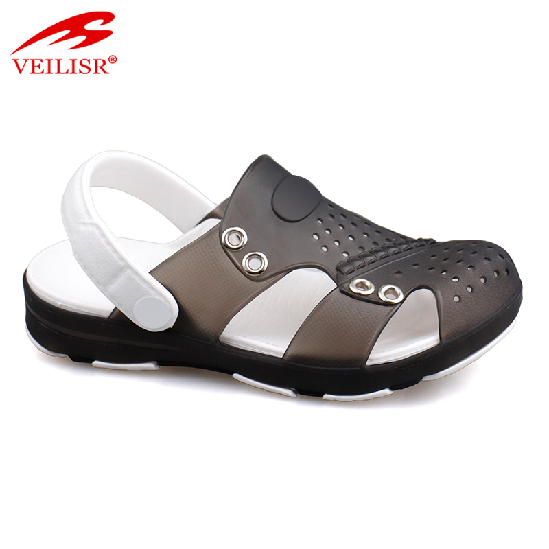 Outdoor summer beach children PVC sandals jelly shoes kids clogs