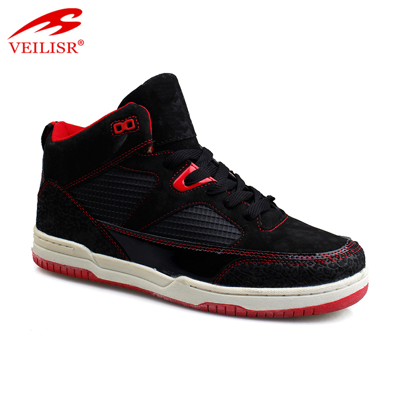 Zapatillas brand fashion PU suede sneakers men basketball shoes