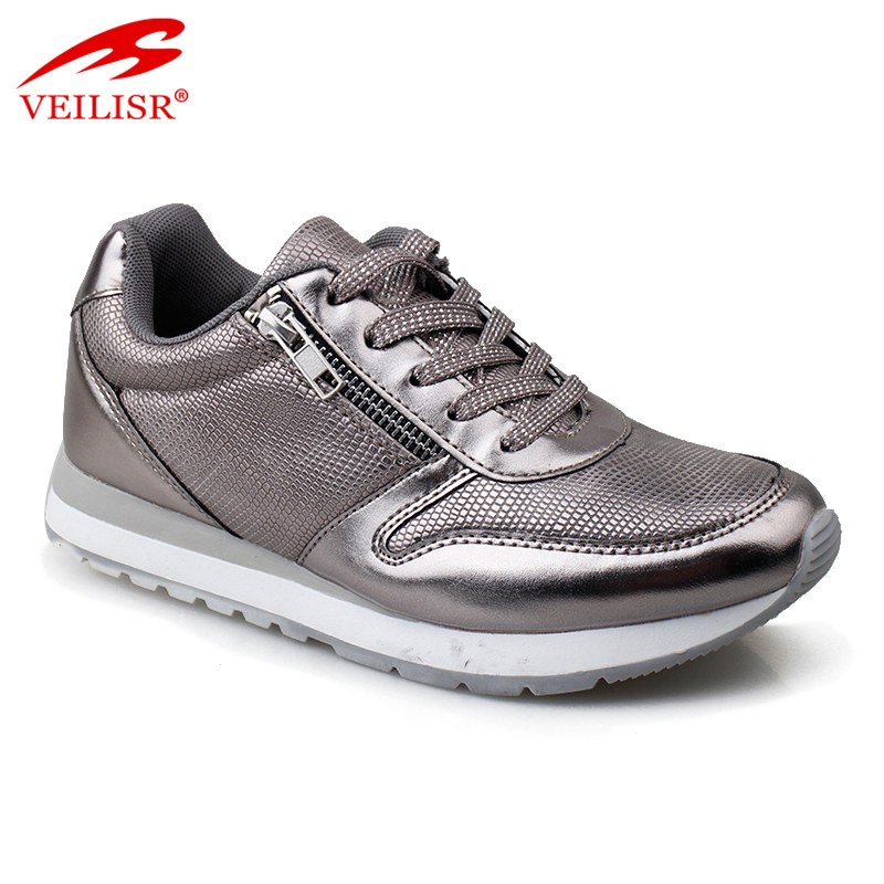 Zapatos casuales new PU upper casual shoes women fashion sneakers Featured Image