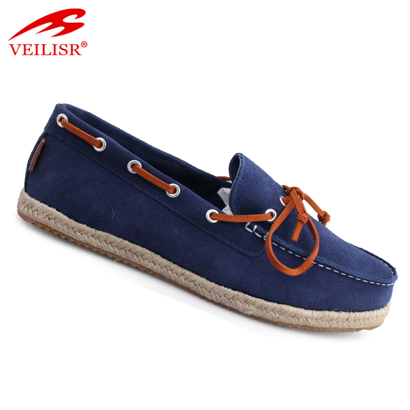 Most popular stylish suede footwear driving men moccasin casual shoes
