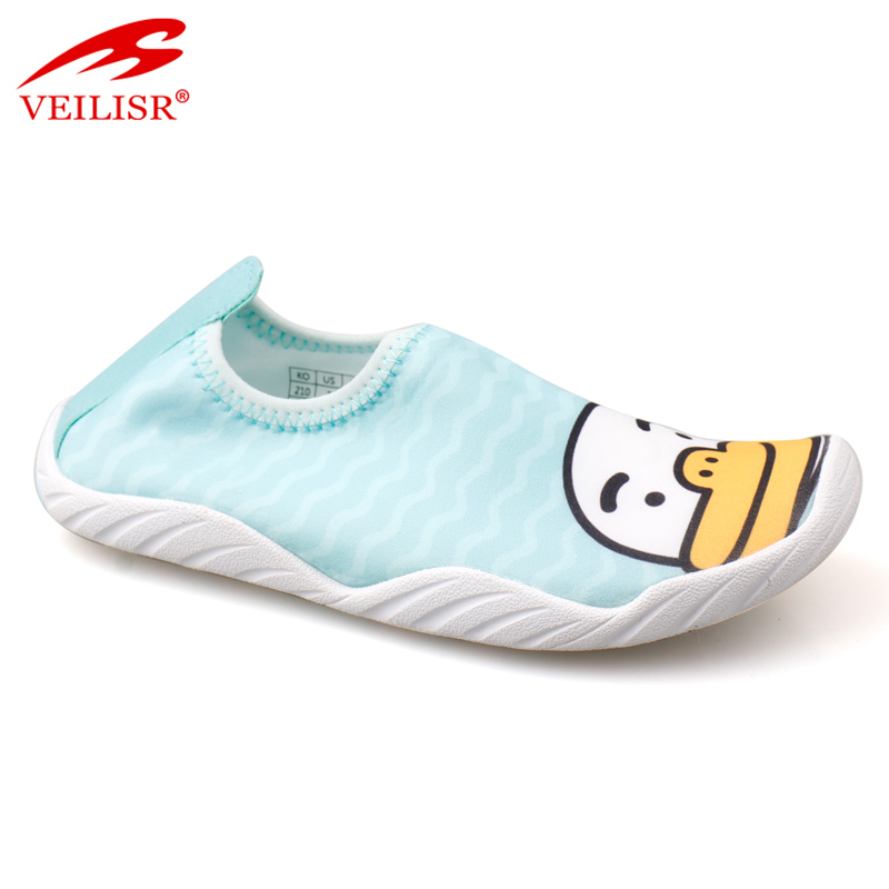 cheap wholesale funny swim kid beach aqua shoes