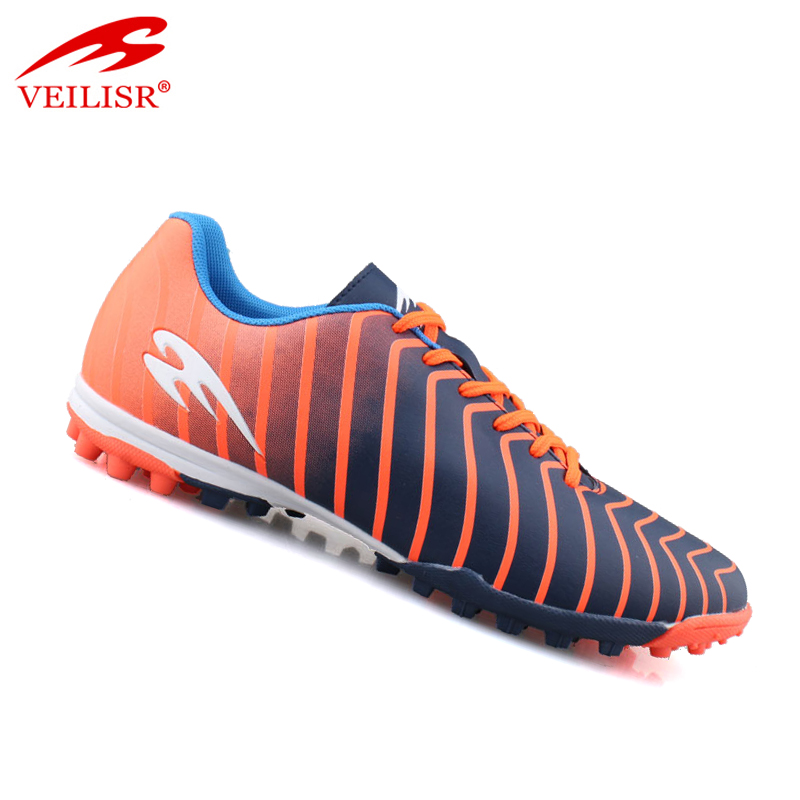 Zapatos de futbol outdoor PU upper soccer shoes men football boots