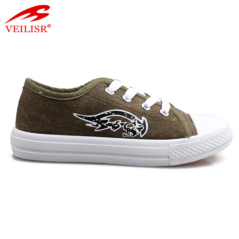 Outdoor summer children PVC canvas sneakers kids casual shoes