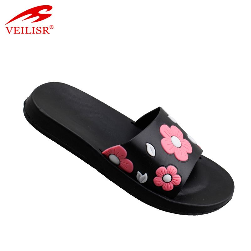 Chancletas summer beach ladies PVC Slippers Women Slide Sandals
