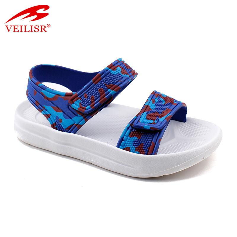 New outdoor summer PVC strap children sandalias kids sandals