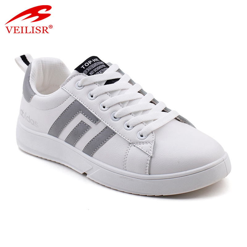 Sepatu China Wholesale Comfortable Breathable Outdoor summer PU upper ladies sneakers women casual shoes
