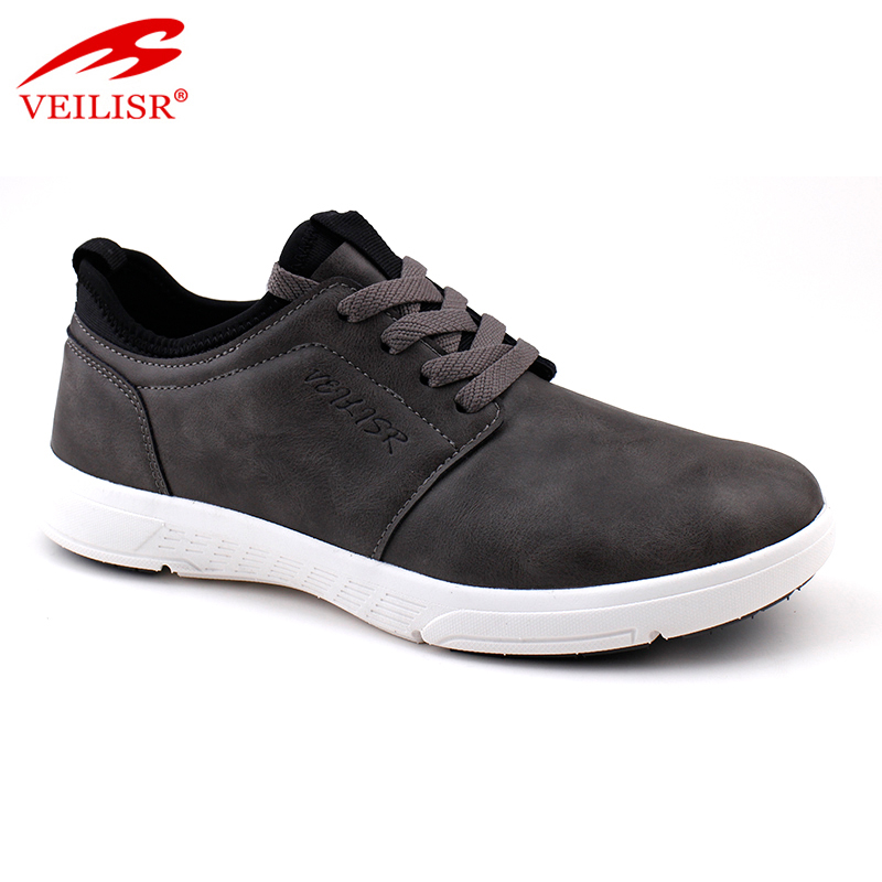 Zapatos fashion faux leather upper sneakers men casual shoes