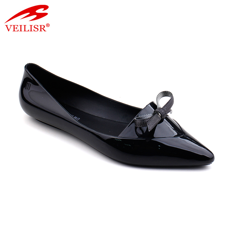 Sandalias summer ladies flat PVC Jelly women single thin shoes ladies party birthday heel dress shoes