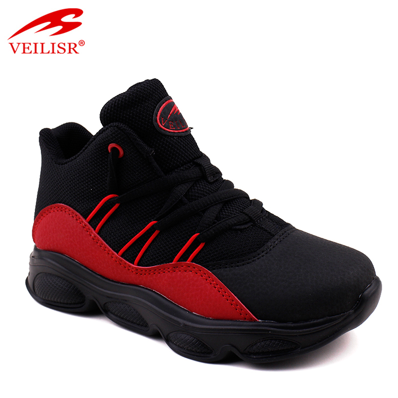 2020 Wholesale China Factory Low Price newest Outdoor PU mesh children casual sneakers kids sport shoes