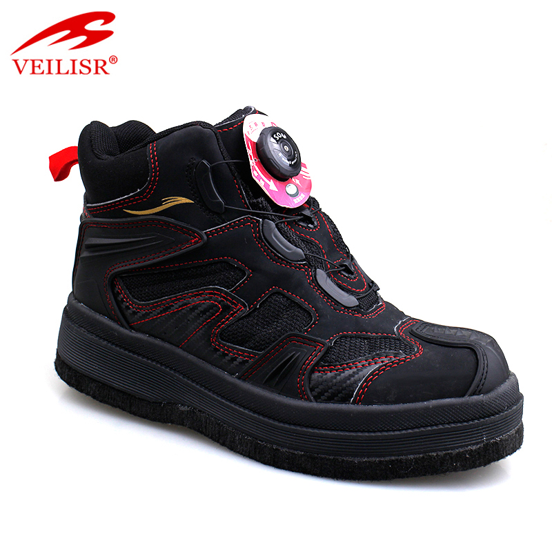 Most popular fashion PU oxford fabric wading boots men fishing shoes