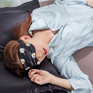 Custom design silk eye mask