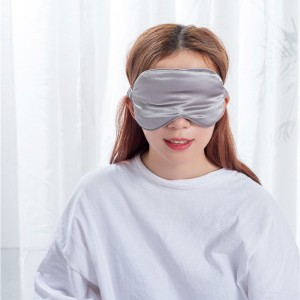 Solid color sleep mask
