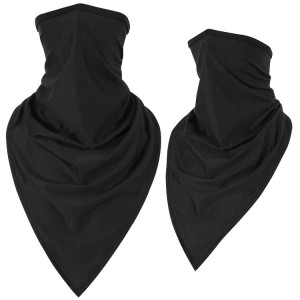 Bandana with ear loop neck gaiter Face cover balaclava for men