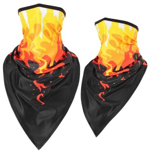 custom Bandana with ear loop neck gaiter Face cover