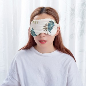 Personalized silk eye mask