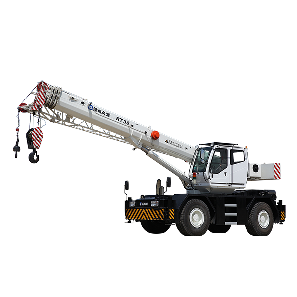 30 Ton Lifting machine rough terrain crane Featured Image