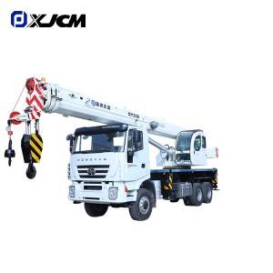 XJCM brand 6X6 Hongyan Chassis 25 ton truck with crane