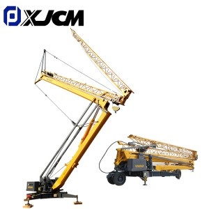 XJCM sale 1 ton small self erecting tower crane