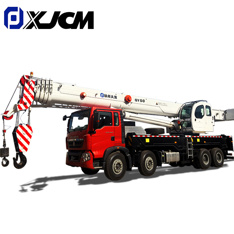 XJCM brand 50 ton hydraulic truck crane for sale Featured Image