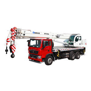 XJCM brand 25 ton truck with crane for sale